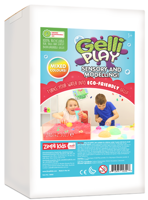 Gelli Play sensory and modelling