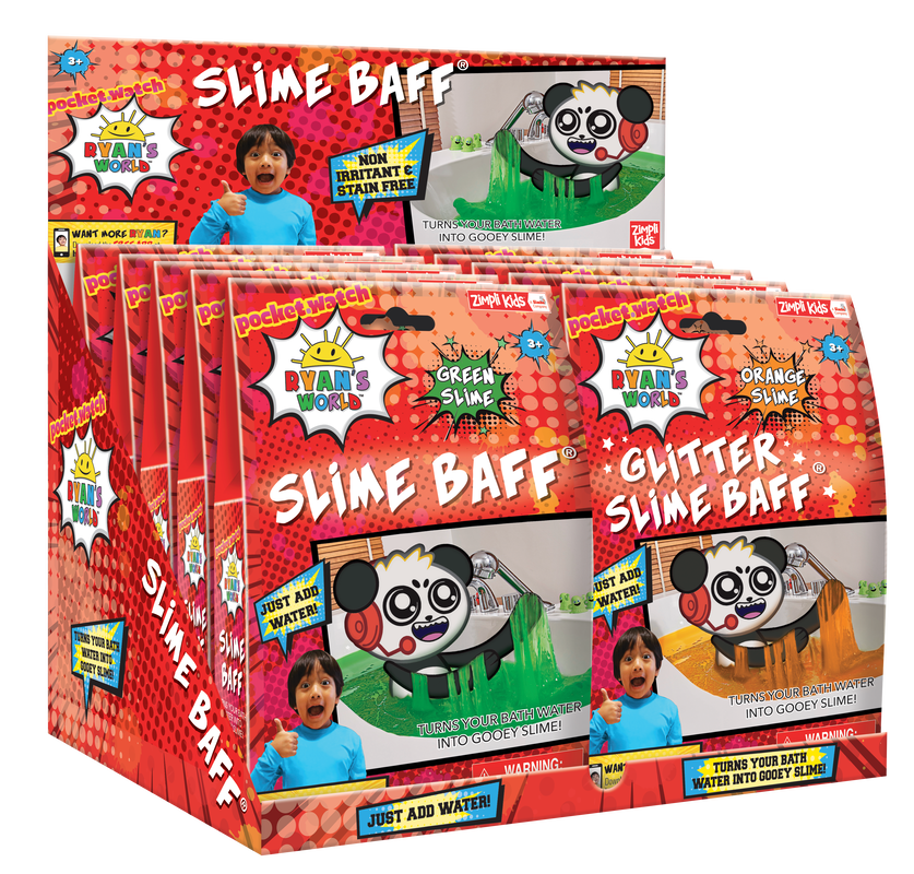 Ryan's World Slime Baff and Glitter Slime Baff 1 Use